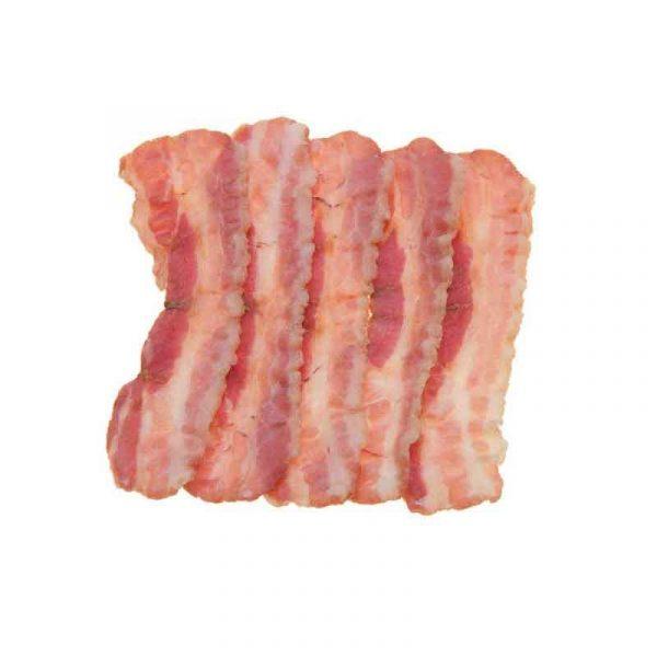 Cooked Crispy Streaky Bacon (1Kg)