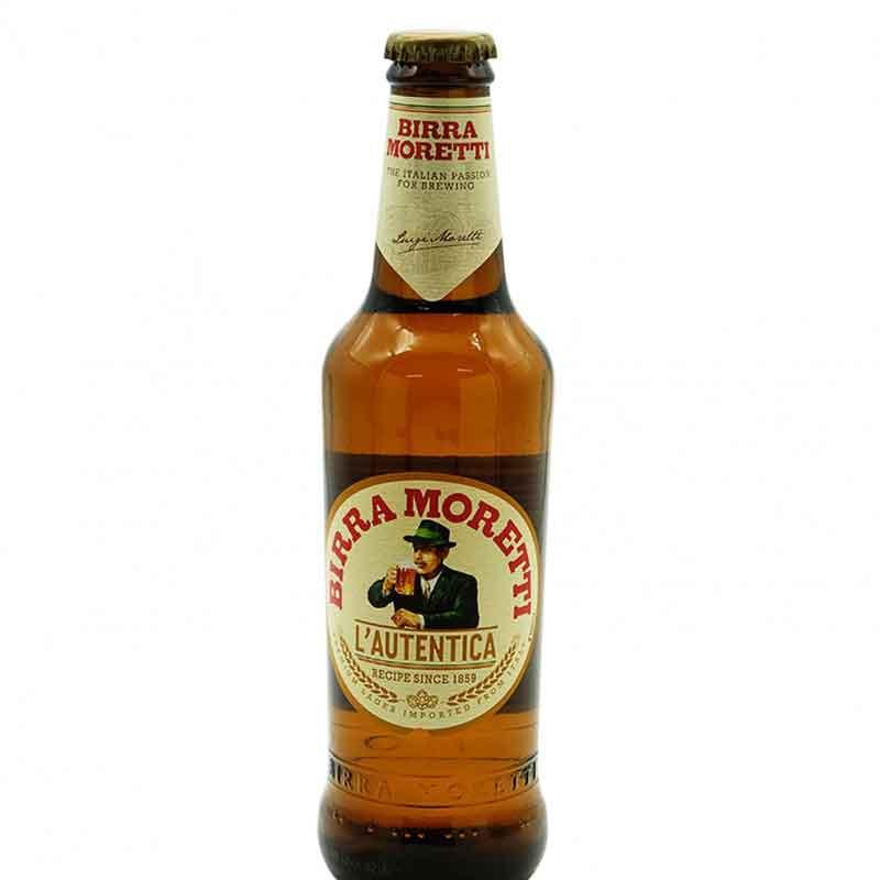 Italian Moretti Beer (24x33cl)