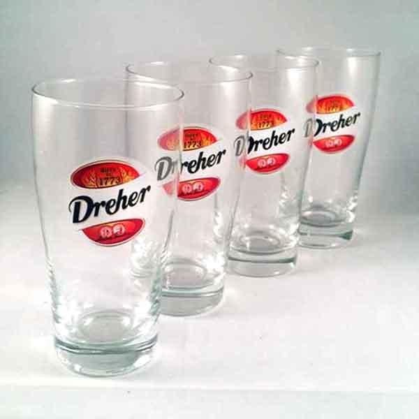 Dreher Beer Glasses (6)