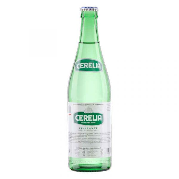 Cerelia Sparkling Mineral Water – glass bottle  (20x50cl)