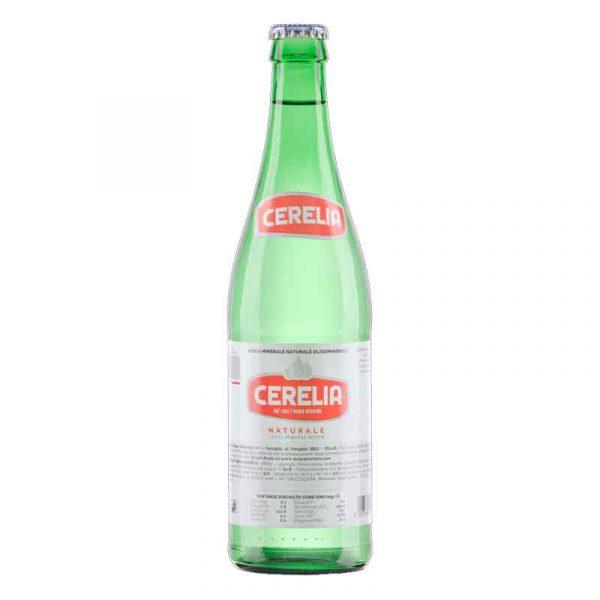 Cerelia Still Mineral Water – glass bottle (20x50cl)