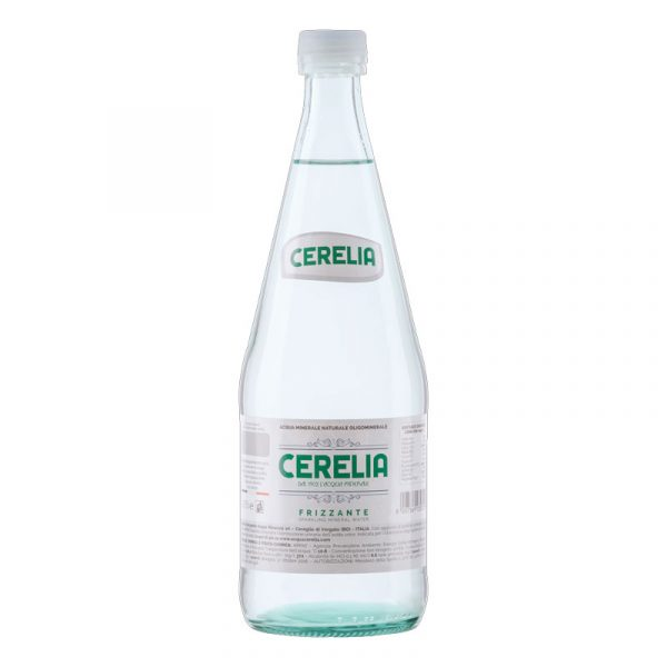 Cerelia Sparkling Mineral Water – glass bottle (12x75cl)