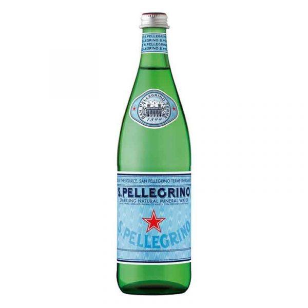 San Pellegrino Sparkling Mineral Water – glass bottle (12x75cl)