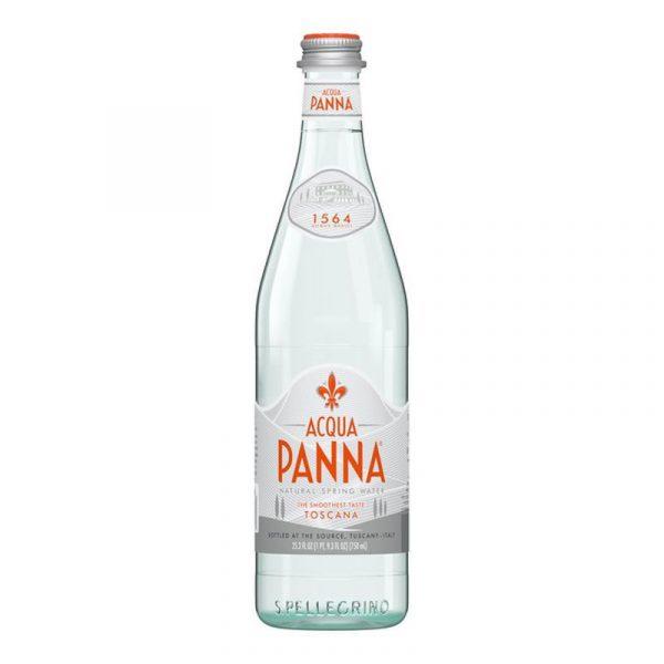 Acqua Panna Still Mineral Water – glass bottle (15x75cl)