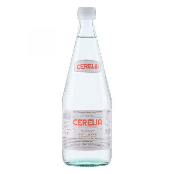 Cerelia Still Mineral Water – glass bottle (12x75cl)