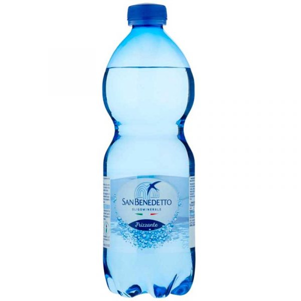 San Benedetto Sparkling Mineral Water – plastic bottle (24x50cl)