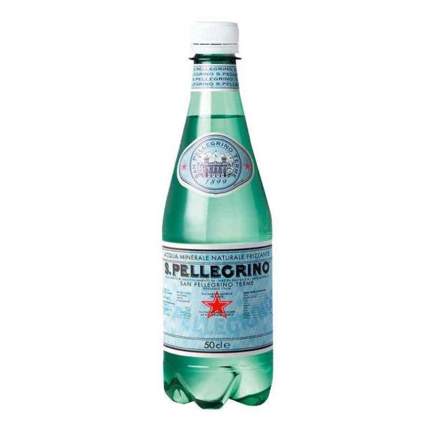 San Pellegrino Sparkling Mineral Water – plastic bottle (24x50cl)
