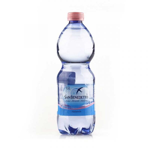San Benedetto Still Mineral Water – plastic bottle (24x50cl)