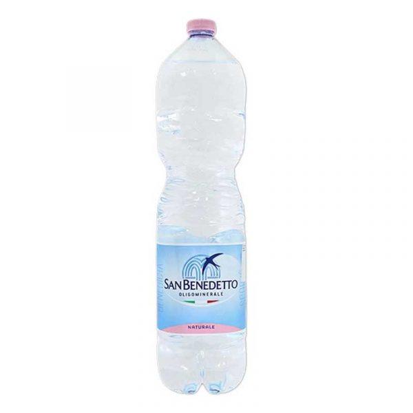 San Benedetto Still Mineral Water – plastic bottle (6×1.5L)