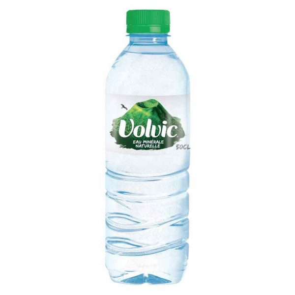 Volvic Still Mineral Water – plastic bottle (24x50cl)