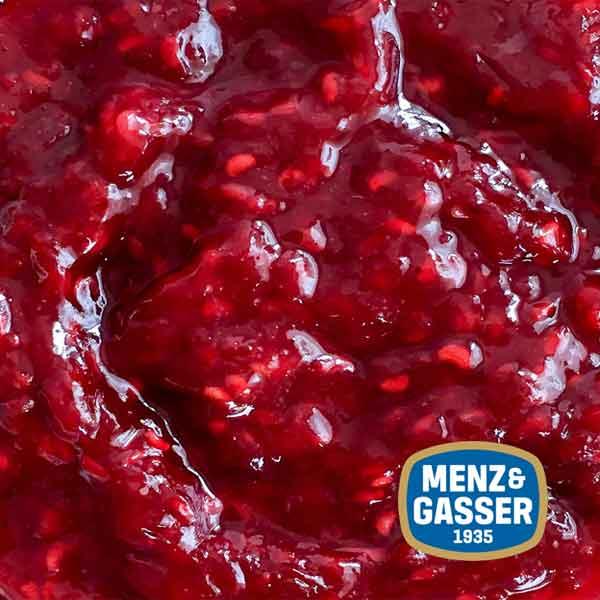 Menz & Gasser Raspberry Jam – tub (3Kg)
