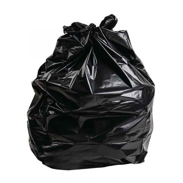 Strong Black Bin Bags 18″x32″x39″ (50)