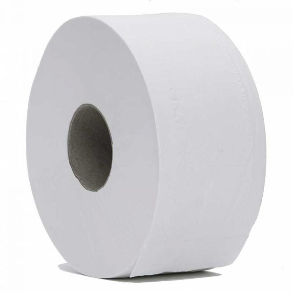 2Ply White Jumbo Toilet Roll (6x420m)