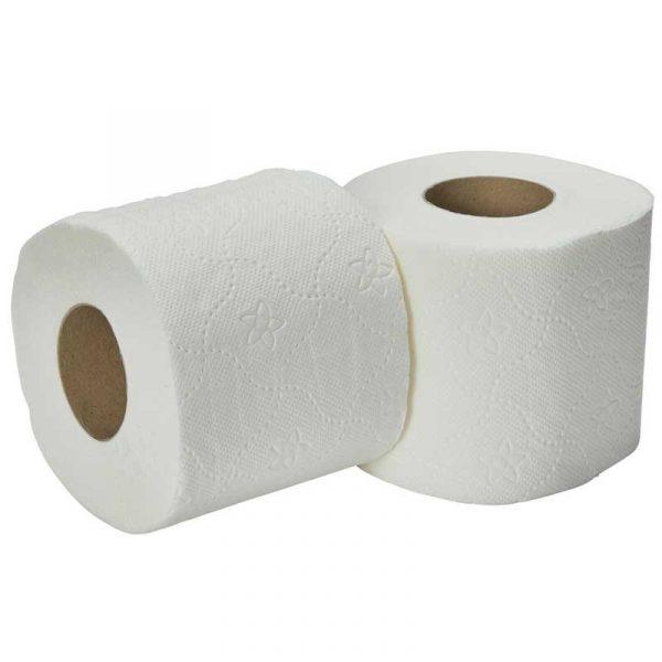 3Ply 160 Sheet White Toilet Roll (40)
