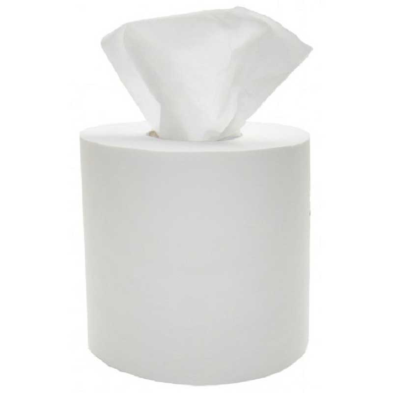 2Ply 300m Maxi Centre Feed White Kitchen Roll (6)