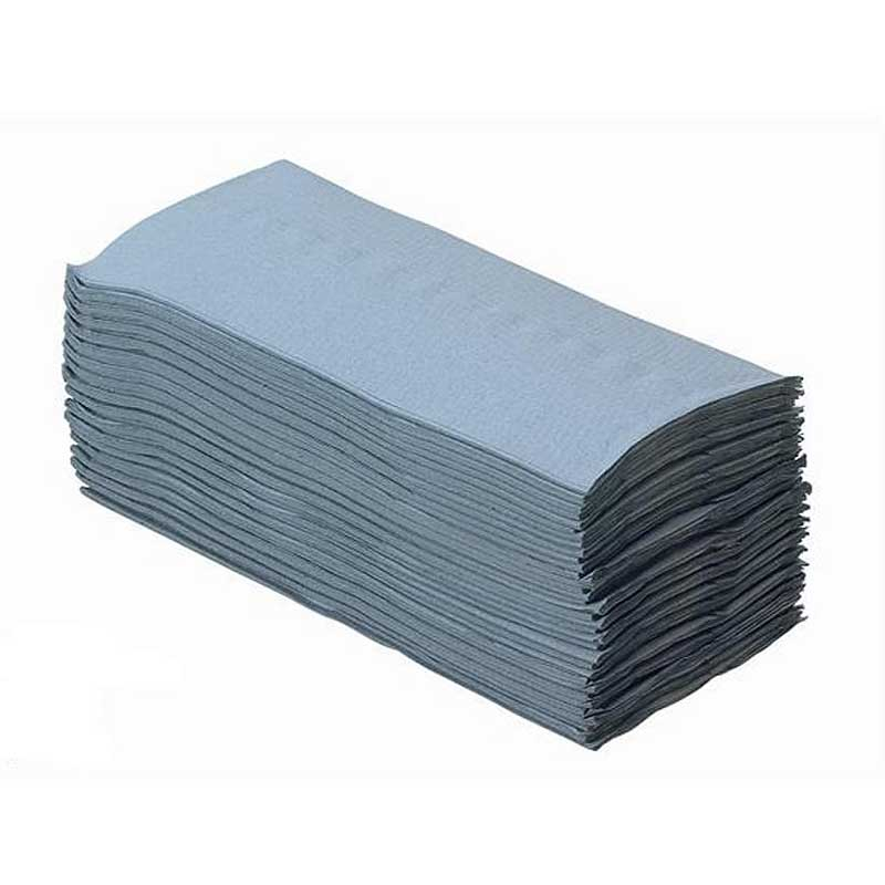 1Ply Blue C-Fold Hand Towels (2688)