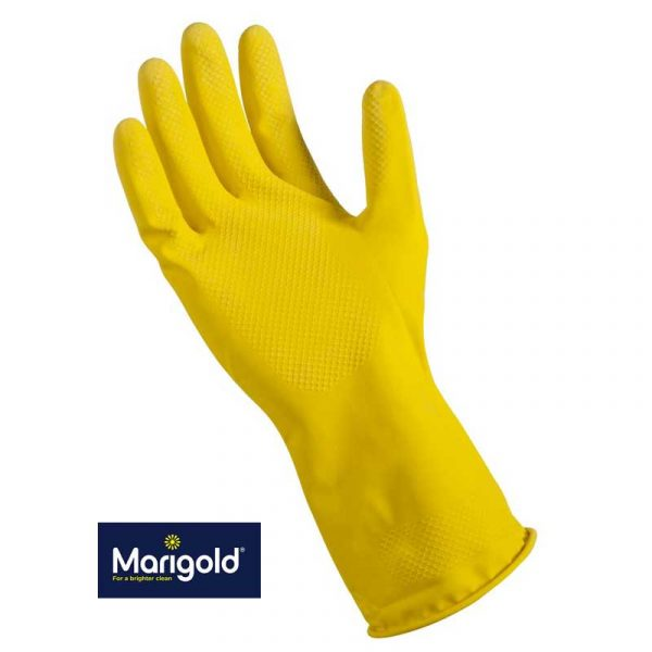 Medium Yellow Marigold Washing-up Gloves (6)