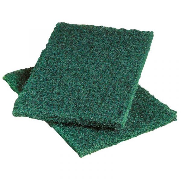 Heavy Duty Green Scouring Pads (10)
