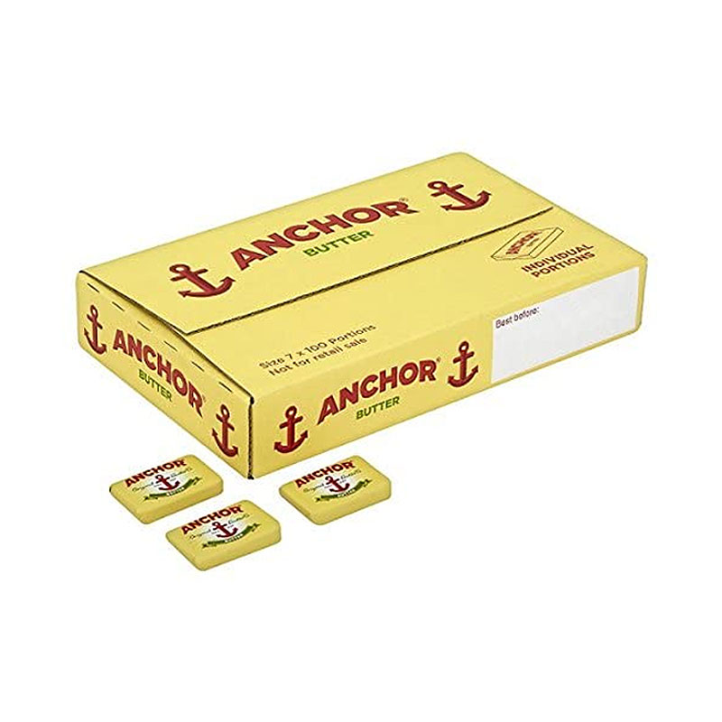 Anchor Butter Portions Foil Wrapped (500x7g)