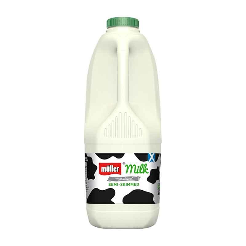 Fresh Skimmed Liquid Milk (2L)