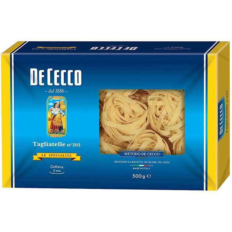 De Cecco Non-Egg Tagliatelle (8x500g)
