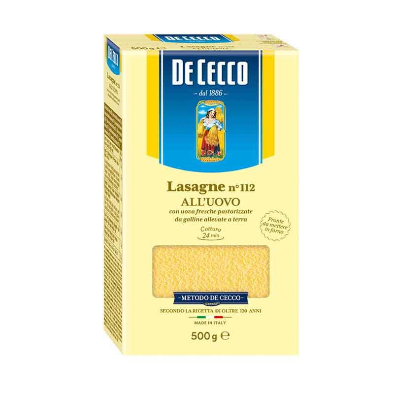 De Cecco Egg Lasagna (500g)