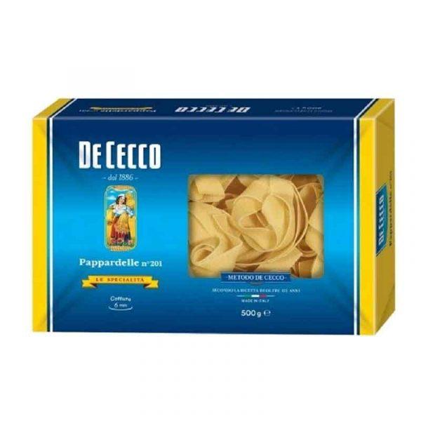 De Cecco Non-Egg Papardelle (10x500g)