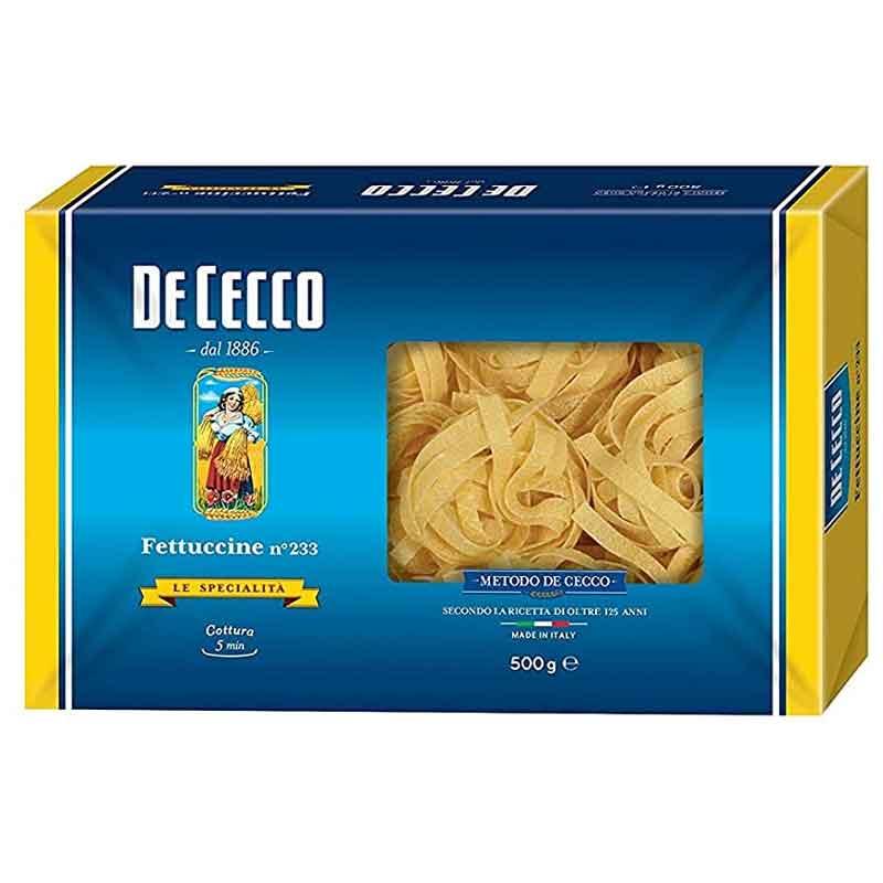 De Cecco Non-Egg Fettuccine (10x500g)