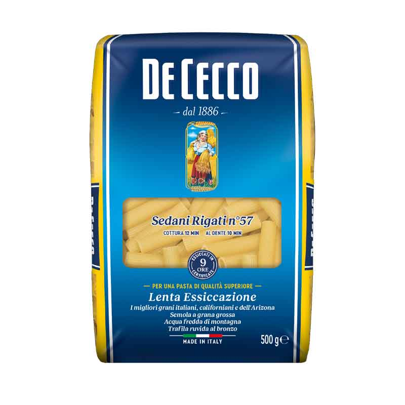De Cecco Sedani Rigati (24x500g)