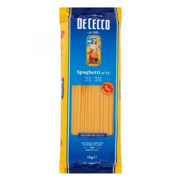 De Cecco Medium Spaghetti no.12 (1Kg)
