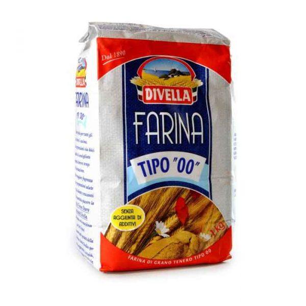 Italian Divella 00 Flour (1Kg)