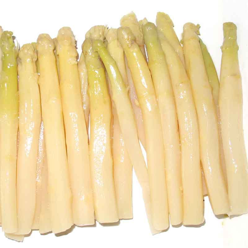 Whole White Asparagus – canned (340g)