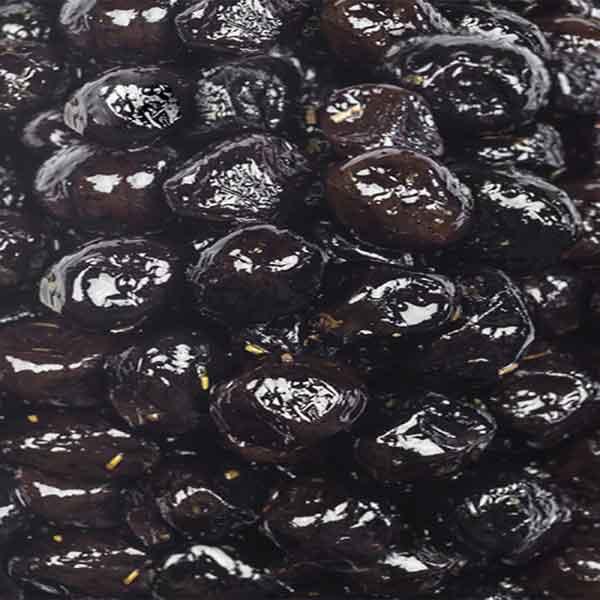 Marinated Black Olives – stone out (1Kg)