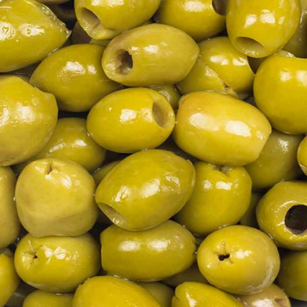 Morrocan Green Olives stone-out (5Kg)