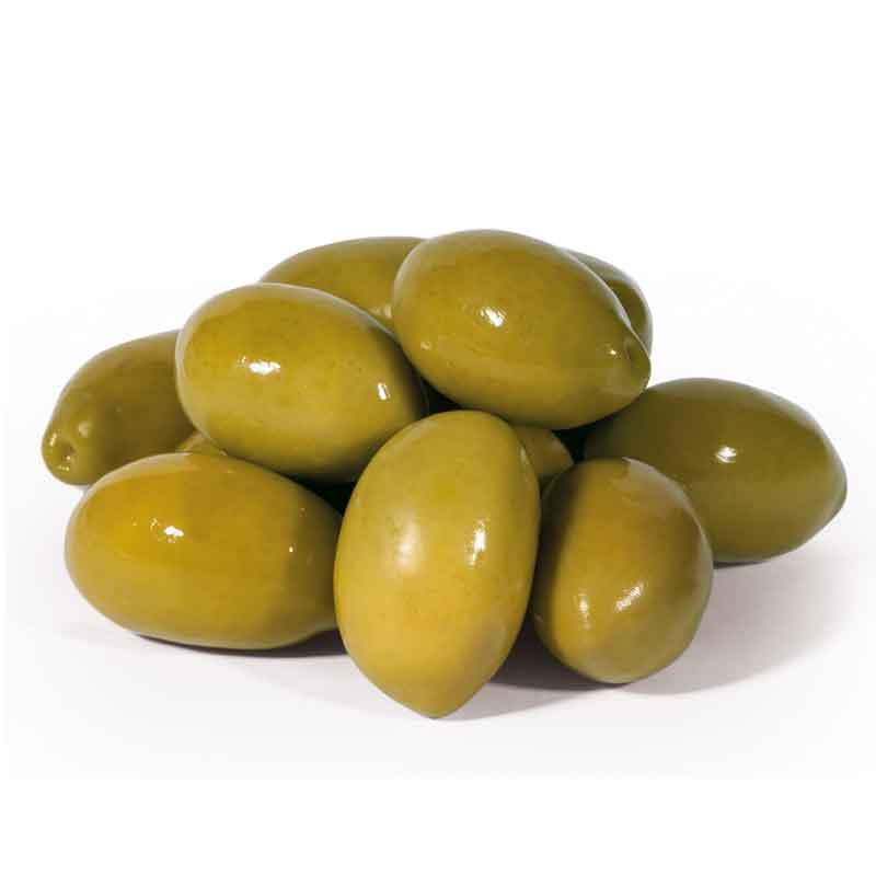 Morrocan Green Olives stone-in (5Kg)