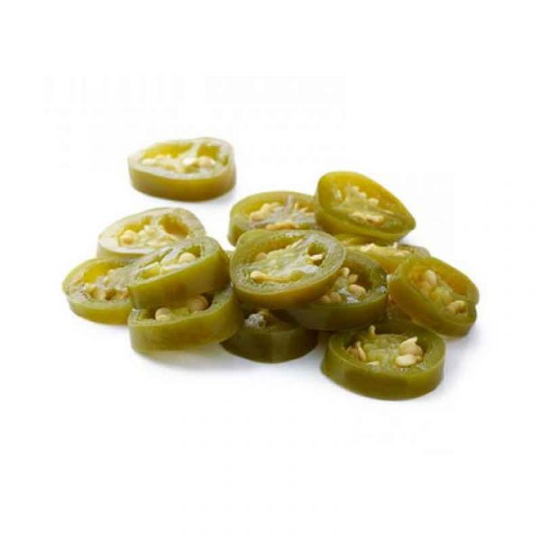 Sliced Jalapeno Peppers – canned (A10)