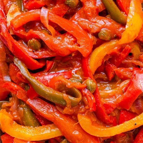 Italian Pepper Fillets in Vinegar (1.7Kg)