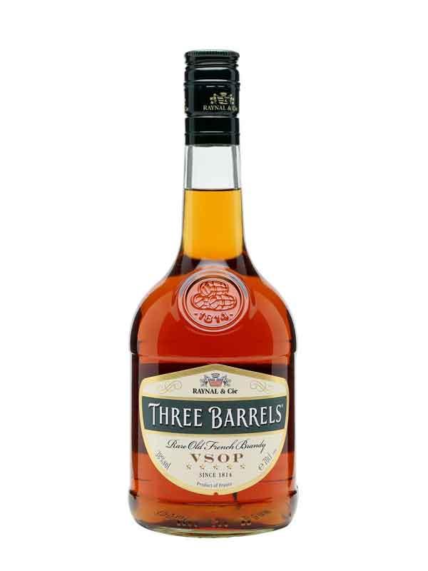 Three Barrels Brandy (70cl)