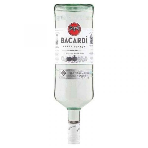 Bacardi White Rum (1.5L)
