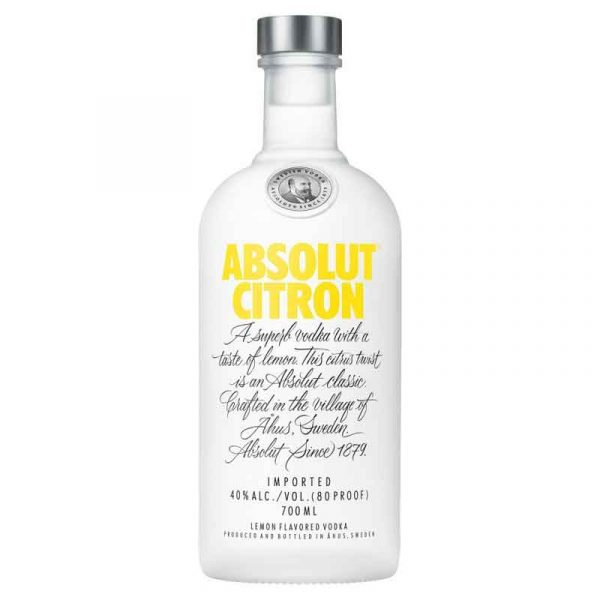 Absolute Vodka Citron (70cl)