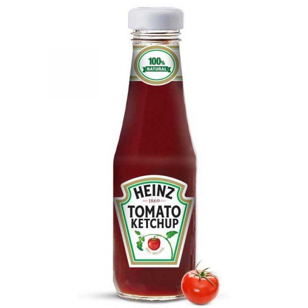 Heinz Ketchup – small glass bottle (200g)