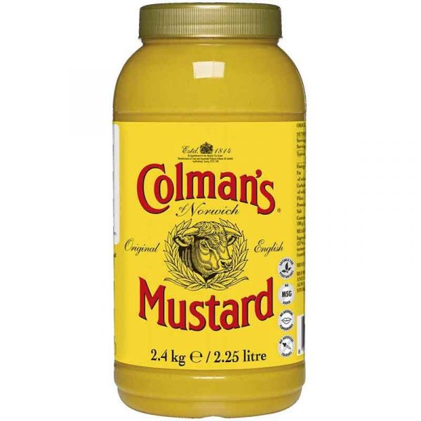 Colmans English Mustard (2.25L)