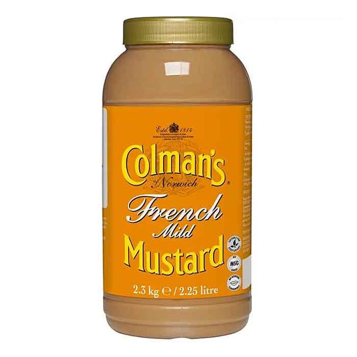 Colmans French Mustard (2.25L)
