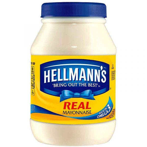 Hellmanns Real Mayonnaise (2L)