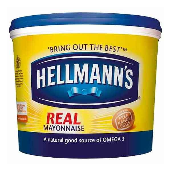 Hellmans Real Mayonnaise (5L)
