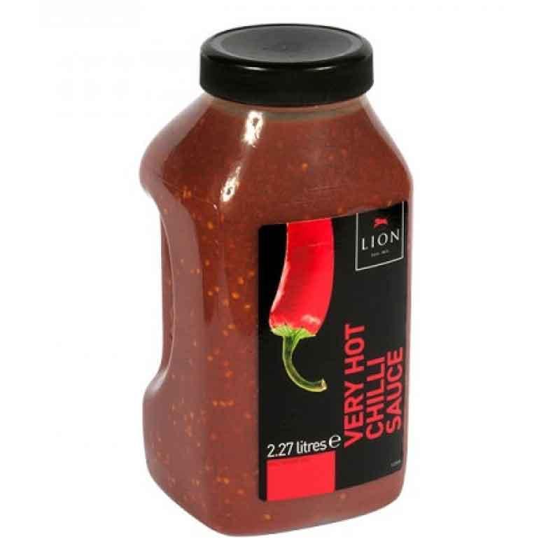Lion Very Hot Chilli Sauce (2.27L)