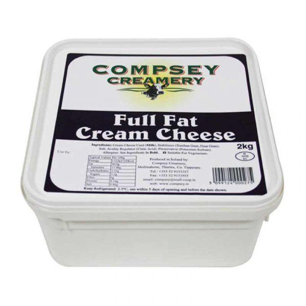 Full Fat Cream Cheese (2Kg)