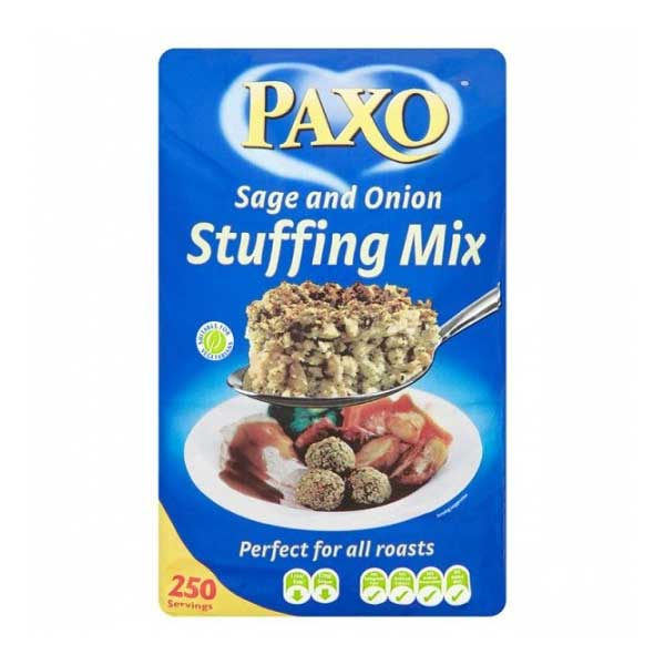 Paxo Sage & Onion Stuffing (2.5Kg)