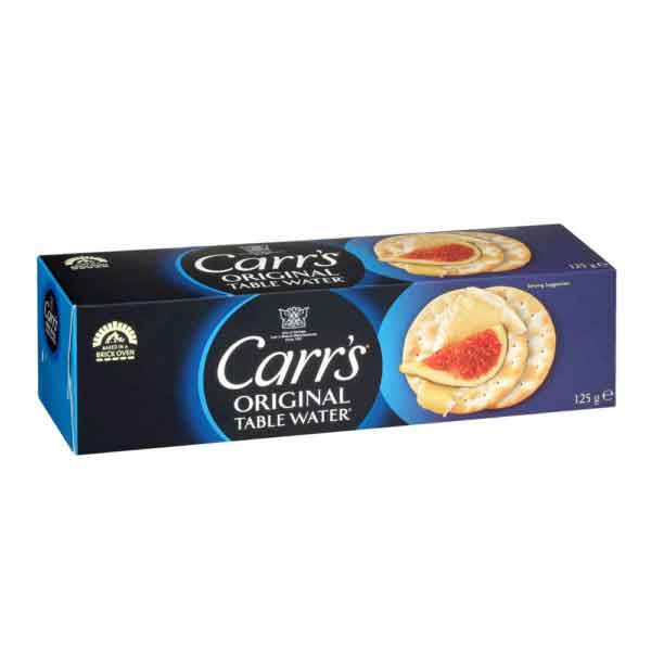 Carrs Water Biscuits (12x125g)