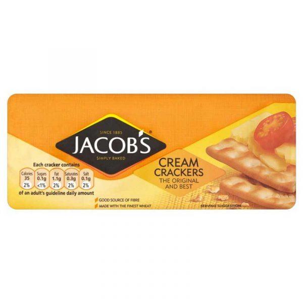 Jacobs Cream Crackers (12x200g)